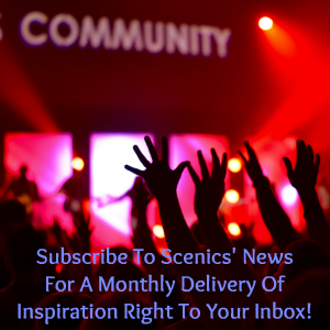 Gaia Scenics' View Newsletter Sign-up