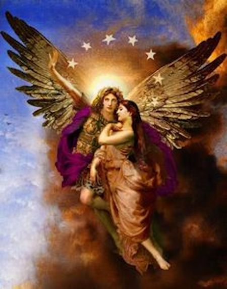 archangel michael is my friend and workmate gaia scenics view