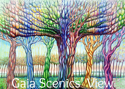 Gaia Scenics' View Logo