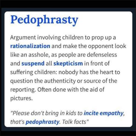 pedophrasty